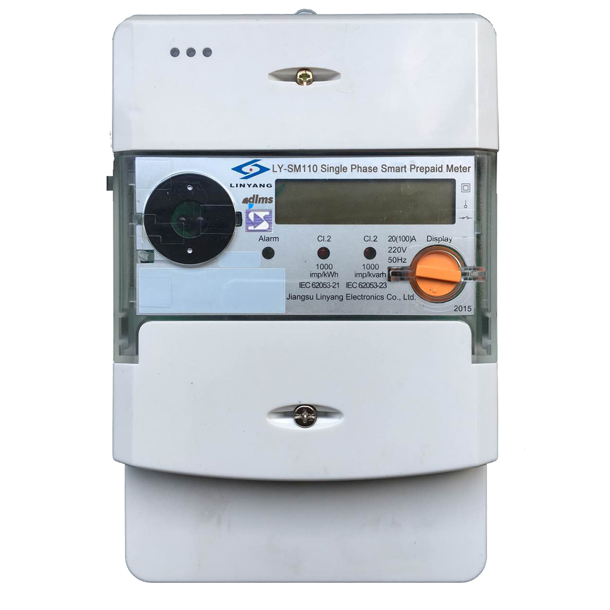 Single Phase Meter : Single phase sts smart prepayment energy meter