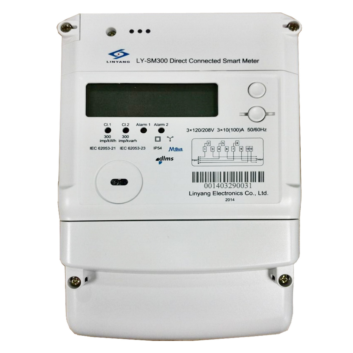 Three Phase Smart Meter Energy 3 4 Wire Diagram Of